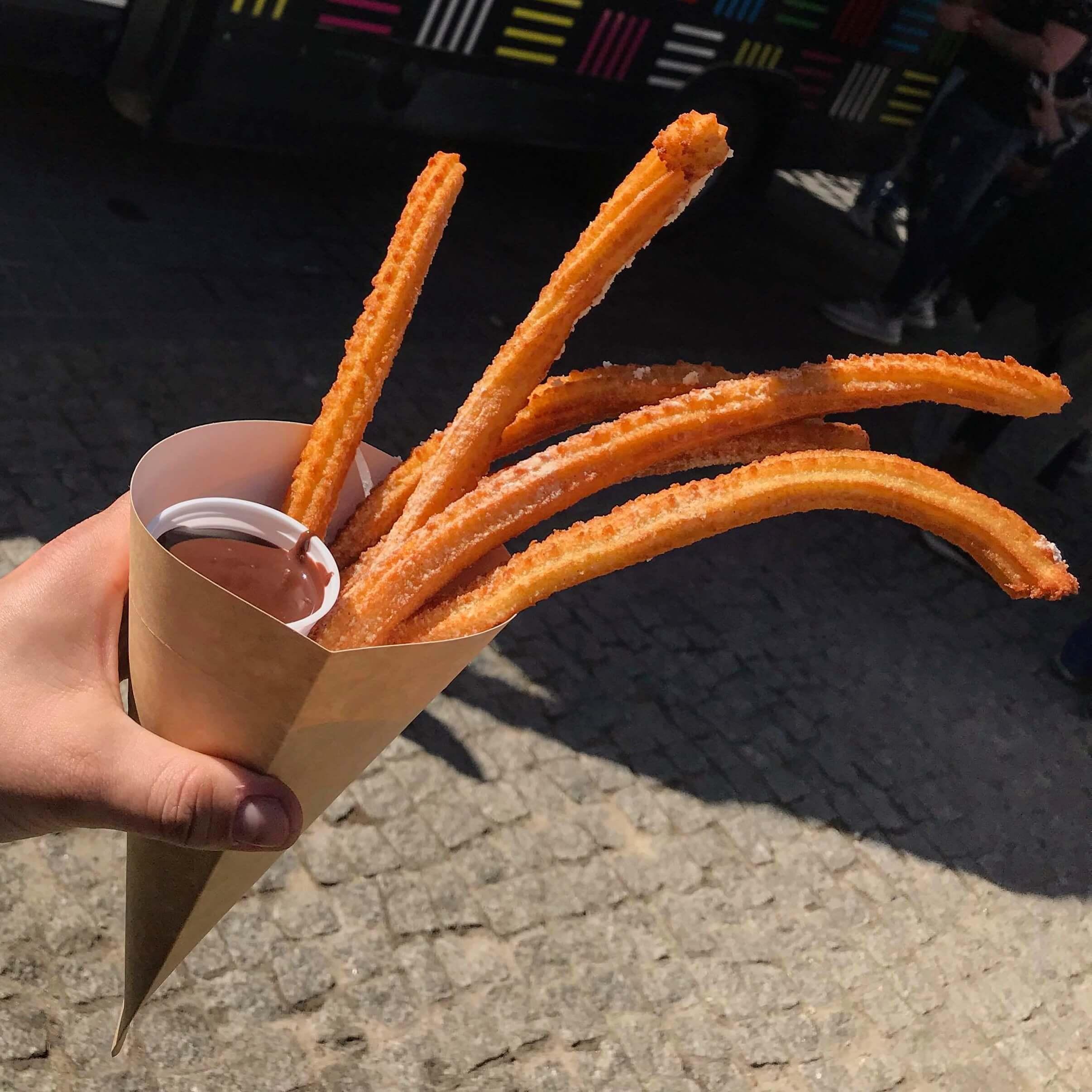 Street Food Festival buenos churros