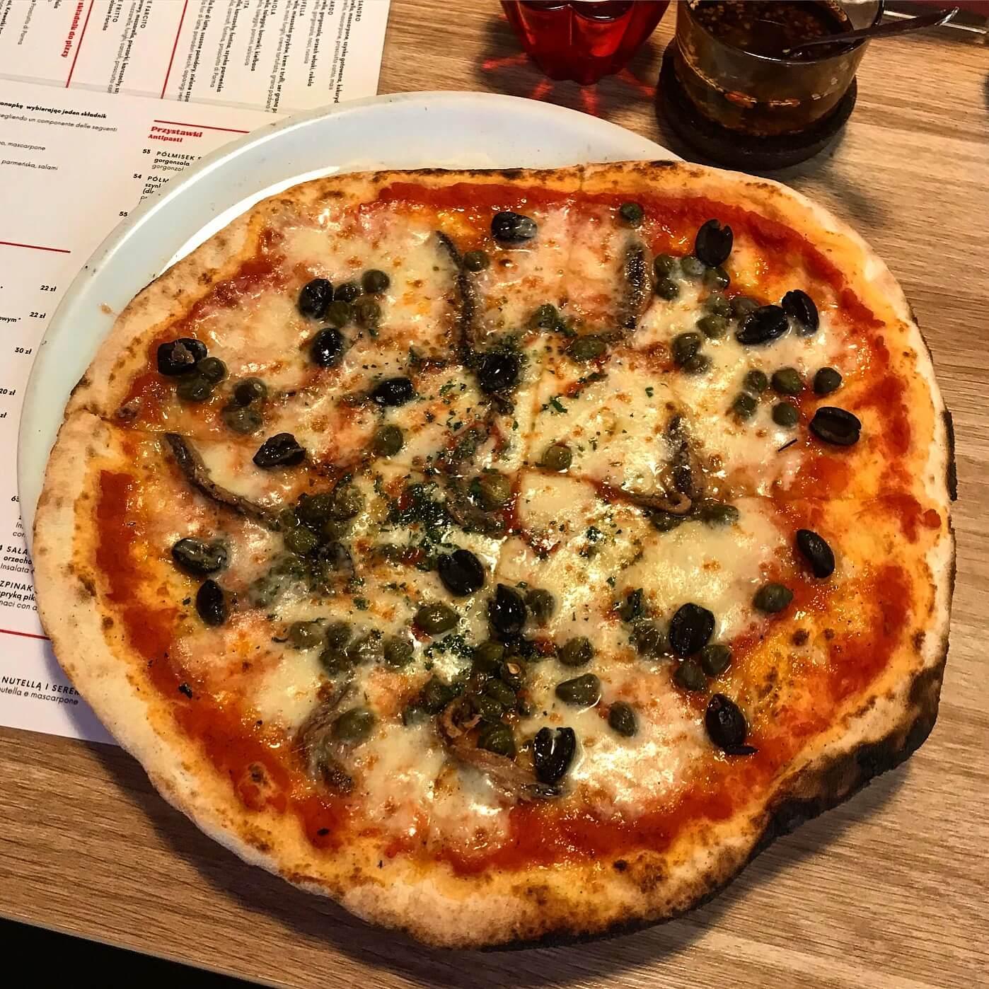 pizza z Pomodoro