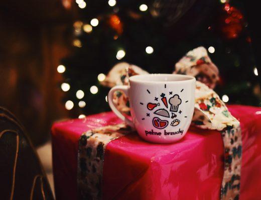 kubek na święta prezent pełne brzuchy
