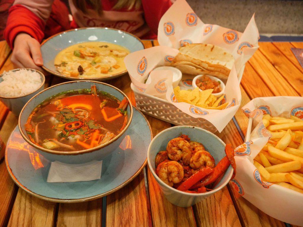 shrimp house menu łódź piotrkowska