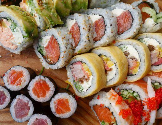 czy sushi można jeść na diecie